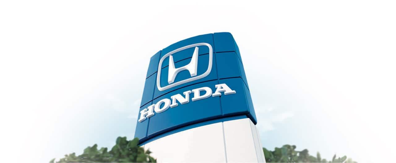 Letrero de concesionario Honda
