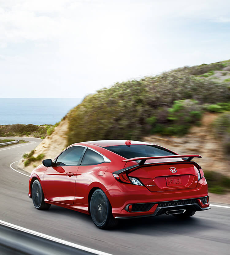 2020 Civic Si Coupe Bold Sport Compact Car Honda